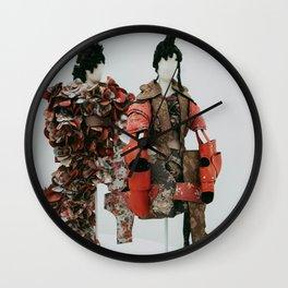Rei Kawakubo at the Met Wall Clock