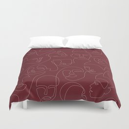 Rich and Bold Duvet Cover