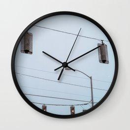 Crossroads I Wall Clock
