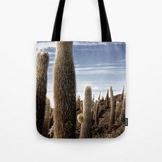 Cactus in Incahuasi Tote Bag