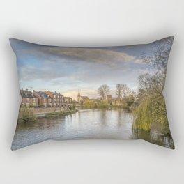 The River Severn Rectangular Pillow