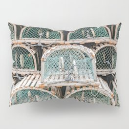 Readying for the lobster season Pillow Sham