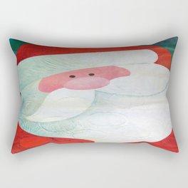 Santa Face Rectangular Pillow