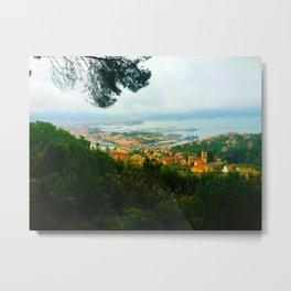 La Spezia, Italy City Panorama Metal Print