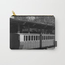 Narrow Gauge bw Carry-All Pouch