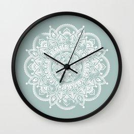 Mandala in the Rough Wall Clock
