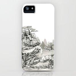 Elder Mountain iPhone Case