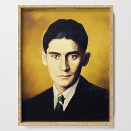 Franz Kafka, Literary Legend Serving Tray