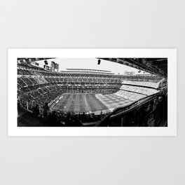 Real Madrid Stadium Art Print