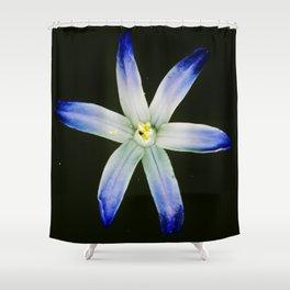 Glorious blue Shower Curtain