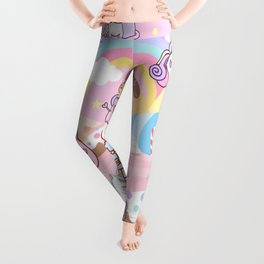 Unicorn Party in Candyland Leggings