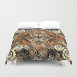 Coiled Metals Duvet Cover
