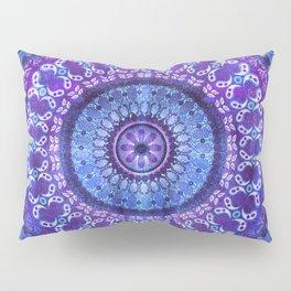 Hydrangea Mandala Pillow Sham
