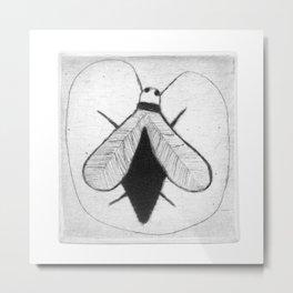 BZZ - strange fly Metal Print