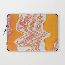 Lost Loop (Orange Glitch ver.) Laptop Sleeve