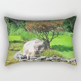 Working in Sync Rectangular Pillow