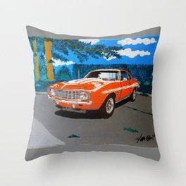 Chevy Camaro Yenko Throw Pillow