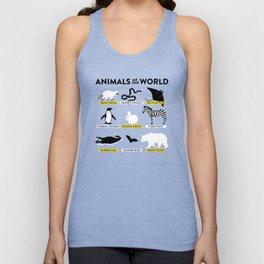 Animals of the world Unisex Tank Top