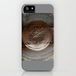should've had a V8 ! iPhone Case
