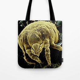 Yellow mite (Tydeidae) Tote Bag