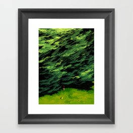 The Old Maple Tree Whispered To Her That Everything Would Be Okay Framed Art Print