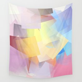 Cubism Abstract 189 Wall Tapestry