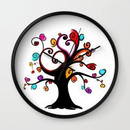 Love Blossoms - Spring burst Wall Clock