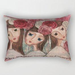 Coco's Closet Together Rectangular Pillow
