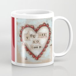 So Loved - by Diane Duda Coffee Mug