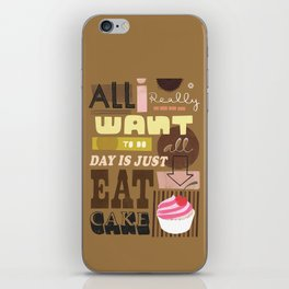 All I Really Want... iPhone Skin
