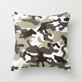 Urban Camo Camouflage Pattern Throw Pillow