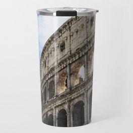 Coliseum Roma Italy Travel Mug