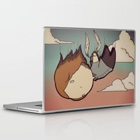 skyfall Laptop & iPad Skins featuring SkyFall by Bright Raven Designs