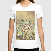 golden T-shirts featuring Golden by Maggie Green