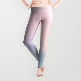 Pastel Sky Dream #1 #decor #art #society6 Leggings