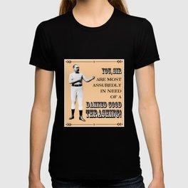 Retro Pugilist – Damned Good Thrashing T-shirt