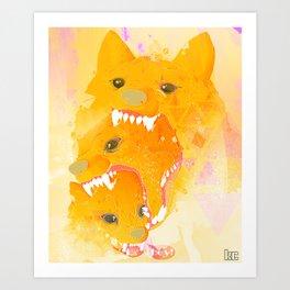 Rewolf! Art Print
