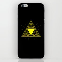 Light Of Triangle iPhone Skin