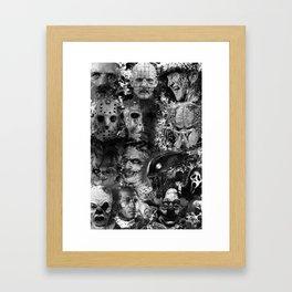 Horror Framed Art Print
