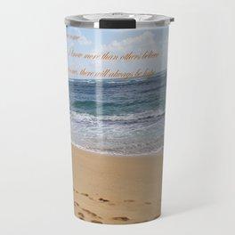 Sandy Shore Travel Mug