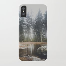 Moody mornings iPhone Case