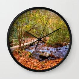 Smoky Mountains Wall Clock