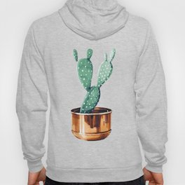 Potted Cactus Bronze Copper Hoody