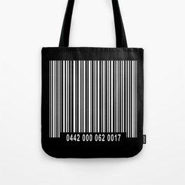 Barcode Inverse Tote Bag