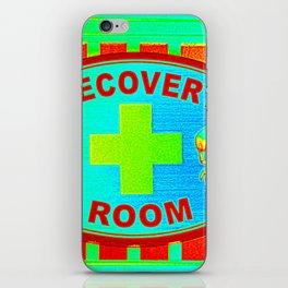 Recovery Room Art iPhone Skin