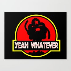 Adventure Time: Yeah, whatever: Jurassic LSP Canvas Print