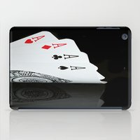 ace iPad Cases featuring ACE!!!! by Brian Raggatt