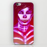 louis ck iPhone & iPod Skins featuring Louis by nasalouis