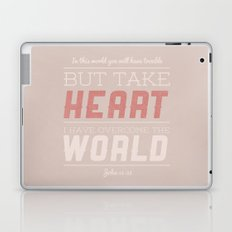John 16:33 Laptop & iPad Skin
