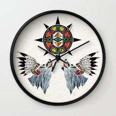 wolf king Wall Clock